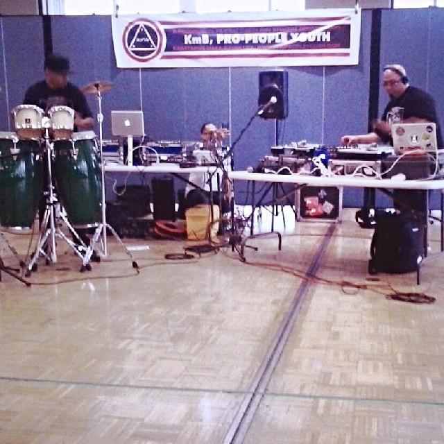 Cypress Junkies is Eric Bobo of Cypress Hill and DJ Rhettmatic of Beat Junkies
